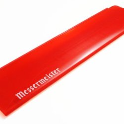 """Messermeister 8"""" Chef'S Edge-Guard, Translucent Red"""