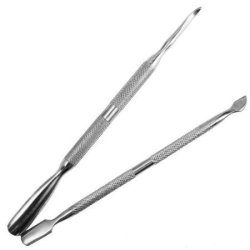 Nicedeco - New Arrivals , 2 Nail Art Stainless Steel Pusher Remover Tool