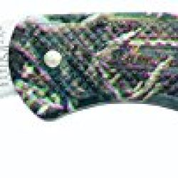 Bear & Son Zytel Lockback Knife, 3 3/4-Inch, Camouflage