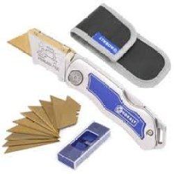 Kobalt Stainless Steel Utility Knife Set