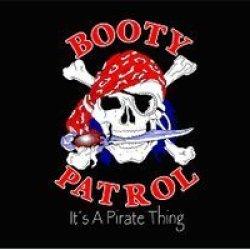 New 3X5 Booty Patrol Pirate Flag Skull & Dagger Banner