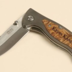 """Personalized Pocket Knife - 3 1/4"""" Belt Clip"""