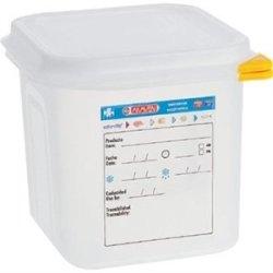 Araven Food Container 2.6 Litre (1/6 Gn) 150(H) X 176(W) X 162(D)Mm. Box Quantity 4.