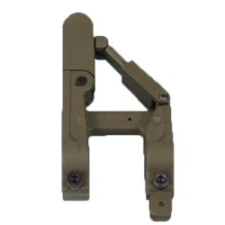 Airsoft Army Force Arms 41-B Silhouette Style Folding Front Sight For M4 Tan