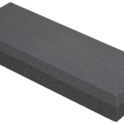 "Norton Combination Grit Abrasive Benchstone, Silicon Carbide, 6"" Length X 2"" Width X 1"" Height (Pack Of 5)"