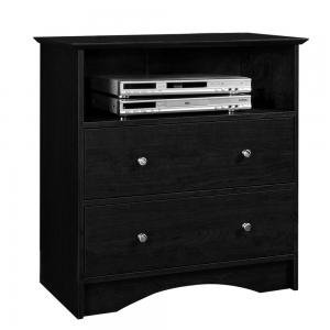 Image of Entertainment Center TV Stand in Black Finish (AZ00-50592x31591)