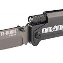 Brite Strike Technologies Brite-Blade Tactical Lighted Survival Knife W/ Mini Bstlsk-100-Serrated