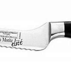 Messermeister San Moritz Elite Offset Scalloped Knife, 6-Inch