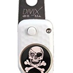 Dx Switchblade Divot Repair Tool Skull Marker White | Made In Usa