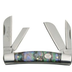 Rite Edge Pearl Congress Knife, Purple