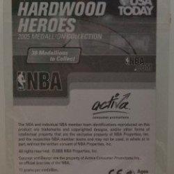 2005 Nba Hardwood Heroes Medallion Collection - Dirk Nowitzki