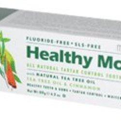 Jason Healthy Mouth Antiplaque & Tartar Control Paste Tea Tree Oil And Cinnamon -- 4.2 Oz