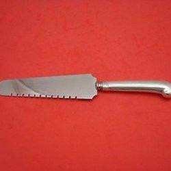 """Eighteen Ten By International Sterling Silver Cake Knife W/ Pistol Grip Hhws 10"""""""