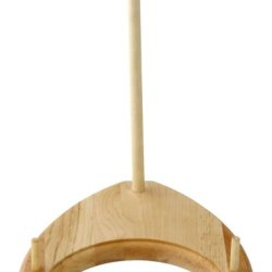 J.K. Adams 8-1/2-Inch-By-6-1/2-Inch Maple Wood Bowl Stand