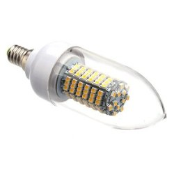 8 W E14 X3528Smd 620 Lm 138 Warm White Led Candle Bulb, 3000-3500 K (220 V)