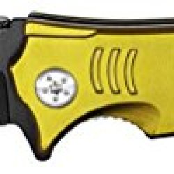 """4.5"""" Spring Assist Army Folding Knife - Gold"""