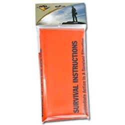 Bushcraft Printed Survival Bag - Orange Cl044