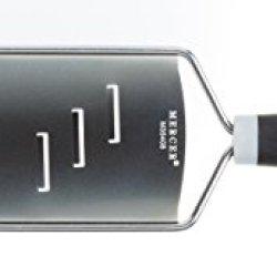 Mercer Culinary M35408 Mercergrates Shaver, Wide, Stainless Steel, Black