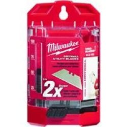 Milwaukee 48-22-1953 50 Pc Drywall Utility Knife Blades W/ Dispenser