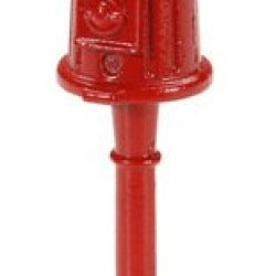 Darice Timeless Ministm Miniatures Gumball Machine 1.75 Inches. Metal Red Gumball Holder With Bright Colorful Gumballs..Adds A Touch Of Realism To Doll Houses, Shadow Boxes, And Much More!