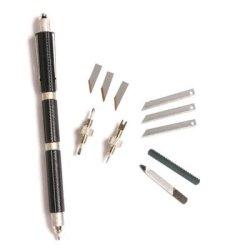 12 In 1 Multi Function Tool Pen - Black
