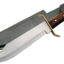 New 15In Carbon Steel Bowie Hunting Knife 205858Cs