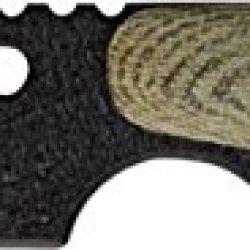 Shadow Tech Raptor 1 Fixed Knife, 1095 High Carbon Steel Blade With Black Powder Coa, Od Strp1Gm