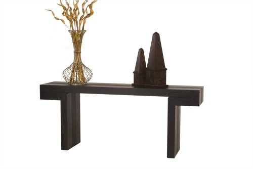 Image of Low Profile Rectangle Console Table by Diamond Sofa (s0718)