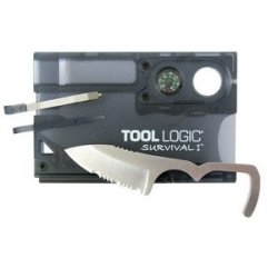The Excellent Quality Knife, Tool Logic, Survival Card W/