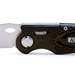 Accusharp 703C Sport Knife, Black