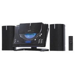 New Supersonic Sc-3399M Vertical Loading Cd/Mp3 Micro System Am/Fm Radio Sc-3399