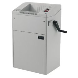 Kobra 260 Hs-2/6 High Security Paper Shredder (Nsa / Css 02-01) With Manual Hand Crank (Electric Or Manual) From Abc Office