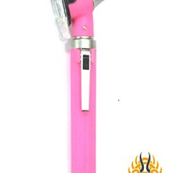 Professional Physician Mini Pocket Fiber Optic Otoscopes Light Pink Color