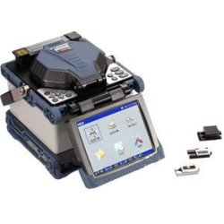 Gowe Fiber Holders Rubber-Covered Fiber Optical Table Butt Fusion Splicer ,With Optic Fiber Cleaver