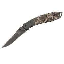 Browning Dirty Bird & Trout Folding Knife, 339B, Mossy Oak Duck Blind 322339B