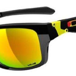 Oakley Valentino Rossi Signature Series Jupiter Squared Polished Black/Fire Iridium Lens Sunglasses