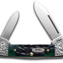 Case Xx Knife 53213 Worked Bolster Hunter Green Bone Baby Butterbean