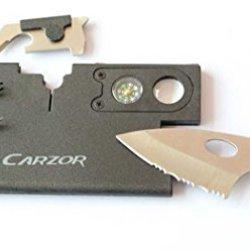Carzor Credit Card Multi Tool 9-In-1