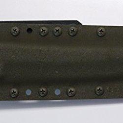 "Custom Olive Drab Color .08"" Kydex Sheath For Cold Steel Knives Master Tanto Knife"
