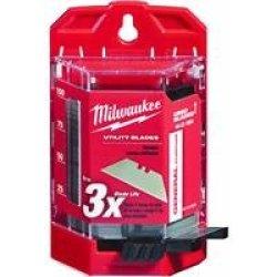 Milwaukee 48-22-1900 100 Pc General Purpose Utility Blades W/ Dispenser