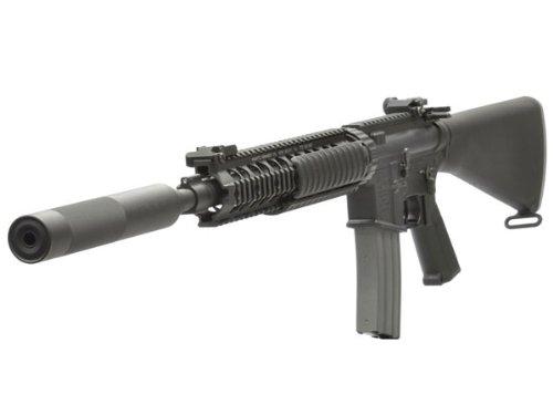 VFC Colt Mk12Mod1(FixedStock/OPSサップレッサー付) DX AEG |エアガン本体|電動ガン|AR系|サバゲー|ミリタリー|