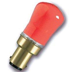 Eveready 2 X 15W Pygmy Sbc (Small Bayonet Cap) Red Coloured Light Bulb - Pack Of 2 - [Eu Specification: 220-240V]