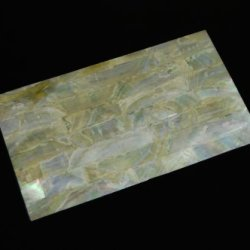 Gold Mother-Of-Pearl (Mop) Shell Veneer Sheet