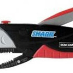 Benchmark Shark Utility Knife And Wire Stripper (With Wire Cutter And Crimper)