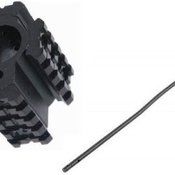 "Ultimate Arms Gear Usa Made Full Rifle Length Nitromet Qpq Black Finish Model 4/15 Lr-308 Standard Full Rifle Length Size 20 "" Inch Tube For .223 / 5.56 Replacement Part + Machined Aluminum Matte Black Model 4/15 .223 5.56 Rifle Deluxe .750 Diameter Remov"