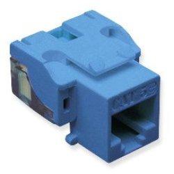 Ic107E5Cbl - 25Pk Cat5 Jack - Blue Ic107E5Cbl - 25Pk Cat5 Jack - Blue