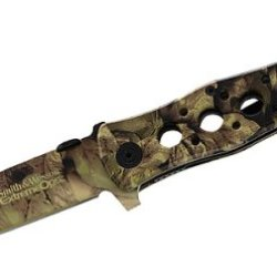 Smith & Wesson Ck6Ch Bullseye Extreme Ops Knife, Leaf Camo
