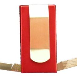 Red 3 In 1 Money Clip