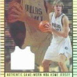 2002-03 Topps Jersey Edition #Jedno Dirk Nowitzki H Jsy