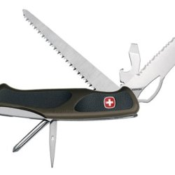 Wenger 16313 Swiss Army Rangergrip 178 Knife, Od Green And Black